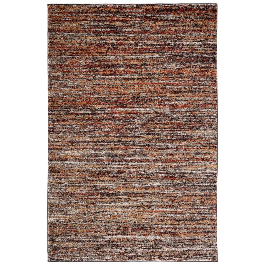 Safavieh Retro Andrea Ivory/Gold Indoor Distressed Area Rug (Common: 9 x 12; Actual: 8.5-ft W x 12-ft L)