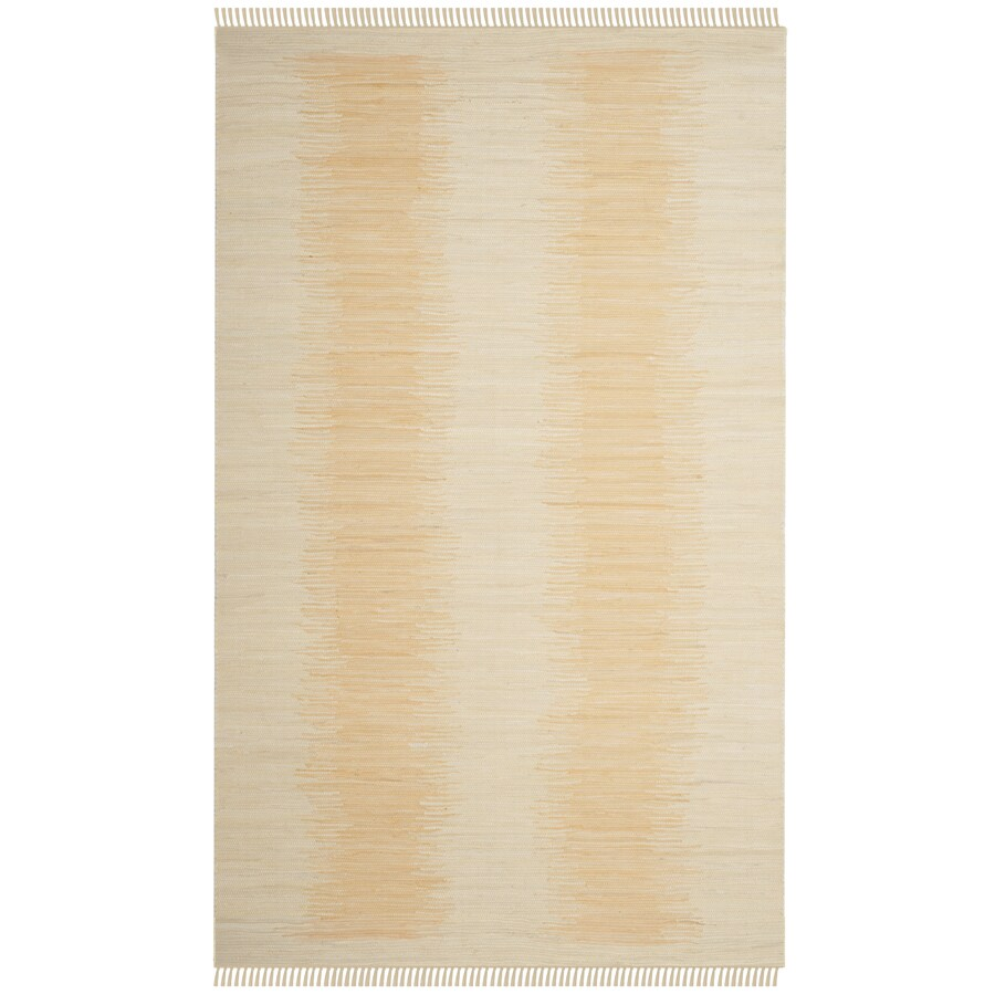 Safavieh Montauk Salina Ivory Indoor Handcrafted Coastal Area Rug (Common: 5 x 8; Actual: 5-ft W x 8-ft L)