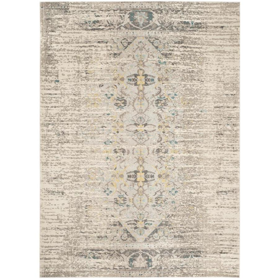 Safavieh Monaco Kimberly Gray Indoor Distressed Area Rug (Common: 12 x 18; Actual: 12-ft W x 18-ft L)