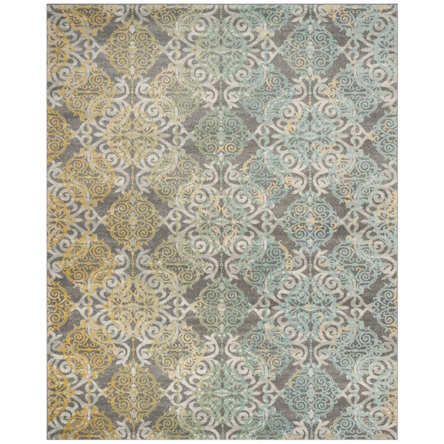 Safavieh Evoke Rigby Gray Indoor Oriental Area Rug (Common: 11 x 15; Actual: 11-ft W x 15-ft L)