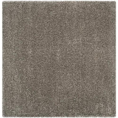Safavieh Milan Shag 10 X 10 Gray Square Indoor Solid Area Rug In The Rugs Department At Lowes Com