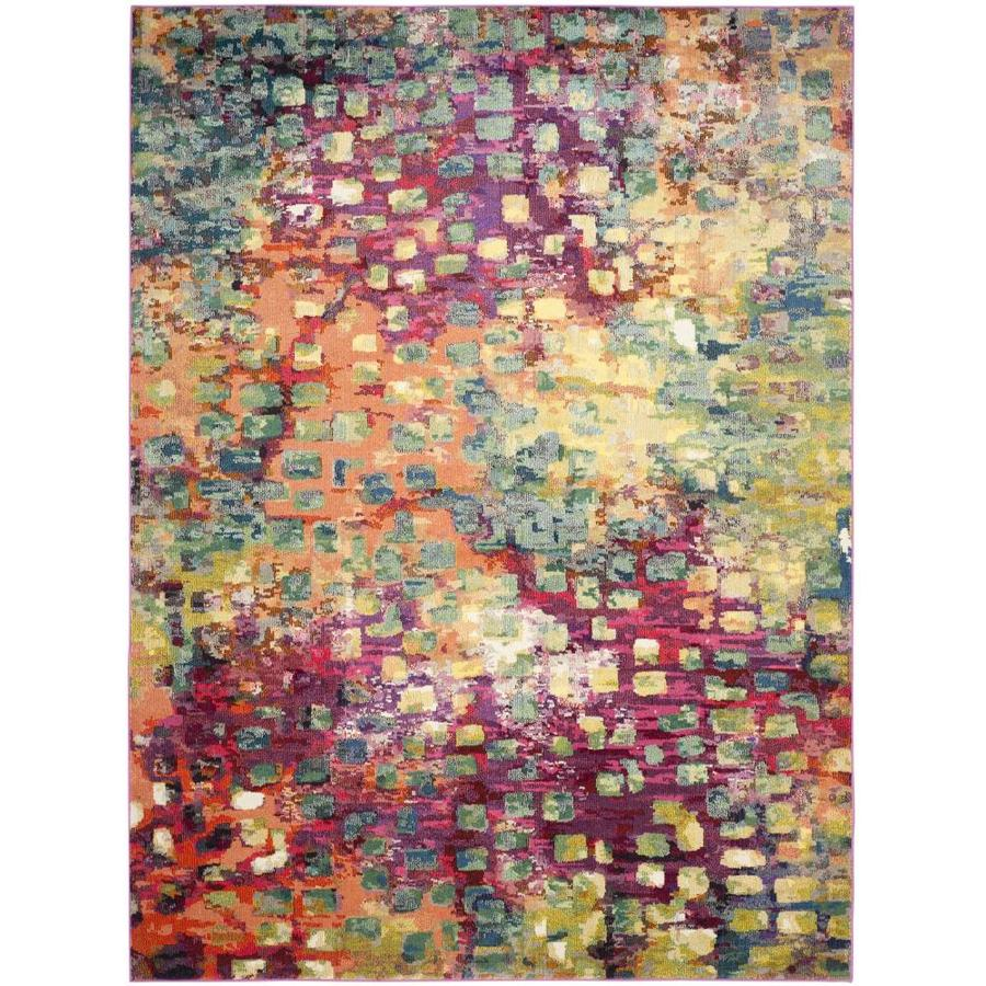 Safavieh Monaco Gogh Pink Indoor Area Rug (Common: 12 x 18; Actual: 12-ft W x 18-ft L)