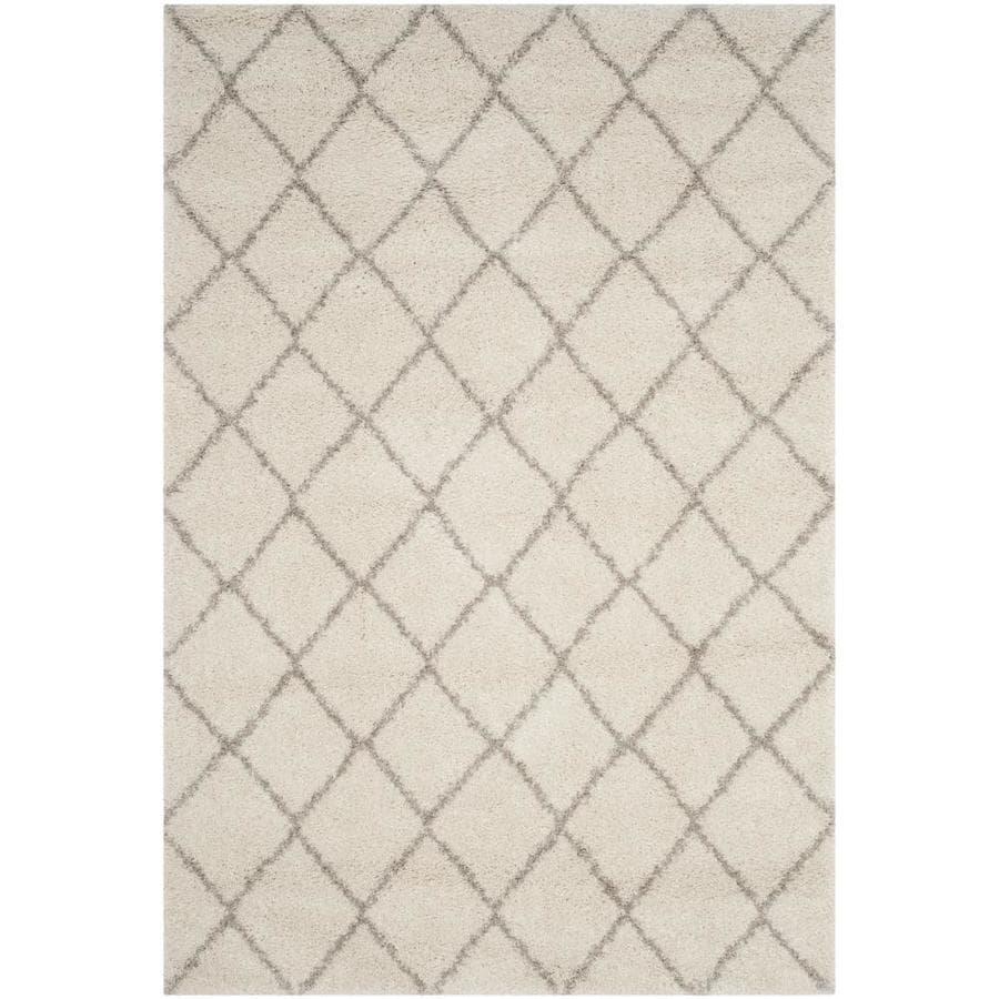 Safavieh Arizona Minerva Ivory/Beige Indoor Area Rug (Common: 5 x 8; Actual: 5.1-ft W x 7.5-ft L)