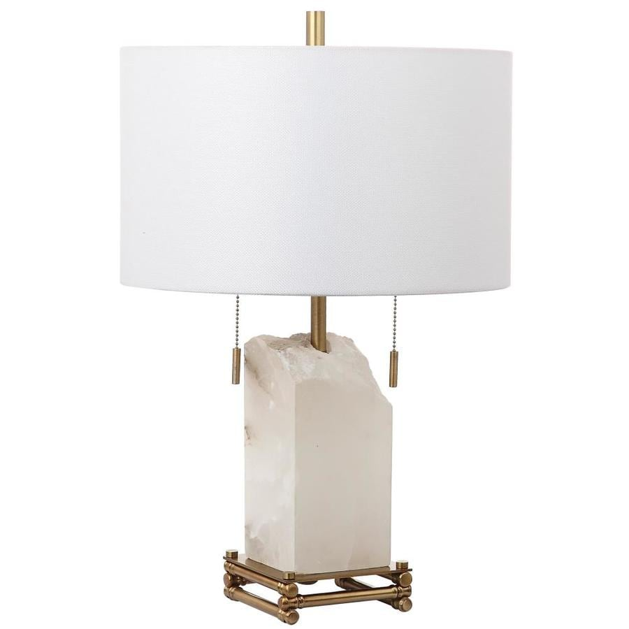 Safavieh Pearl Table Lamp (White/Gold)