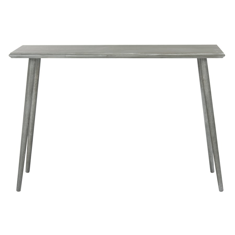 Safavieh Marshal Slate Gray Wood Casual Console Table At