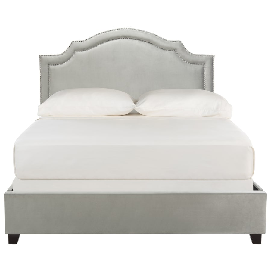 Safavieh Theron Gray Queen Bed Frame