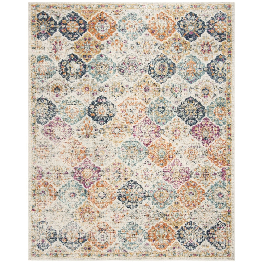 Safavieh Madison Lyton Cream Indoor Distressed Area Rug (Common: 8 x 10;  Actual