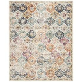 Safavieh Madison Lyton Cream Indoor Distressed Area Rug (Common: 9 x 12; Actual: 9-ft W x 12-ft L)