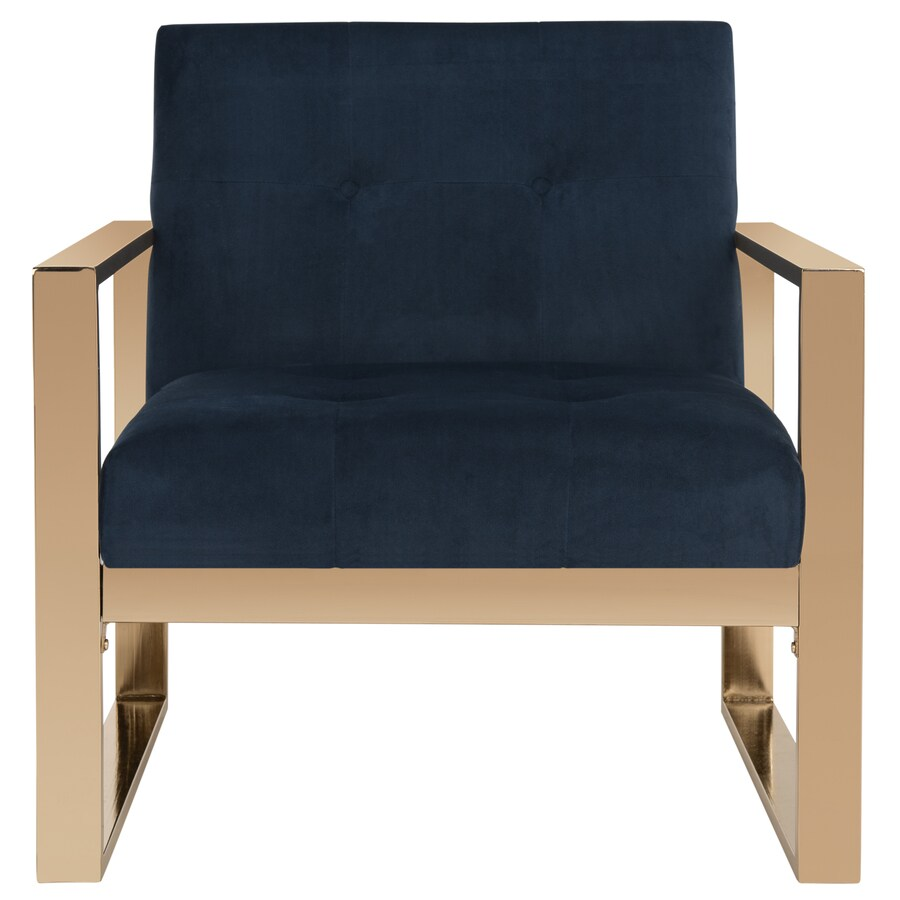 Safavieh Vasco Modern Navy  Accent Chair