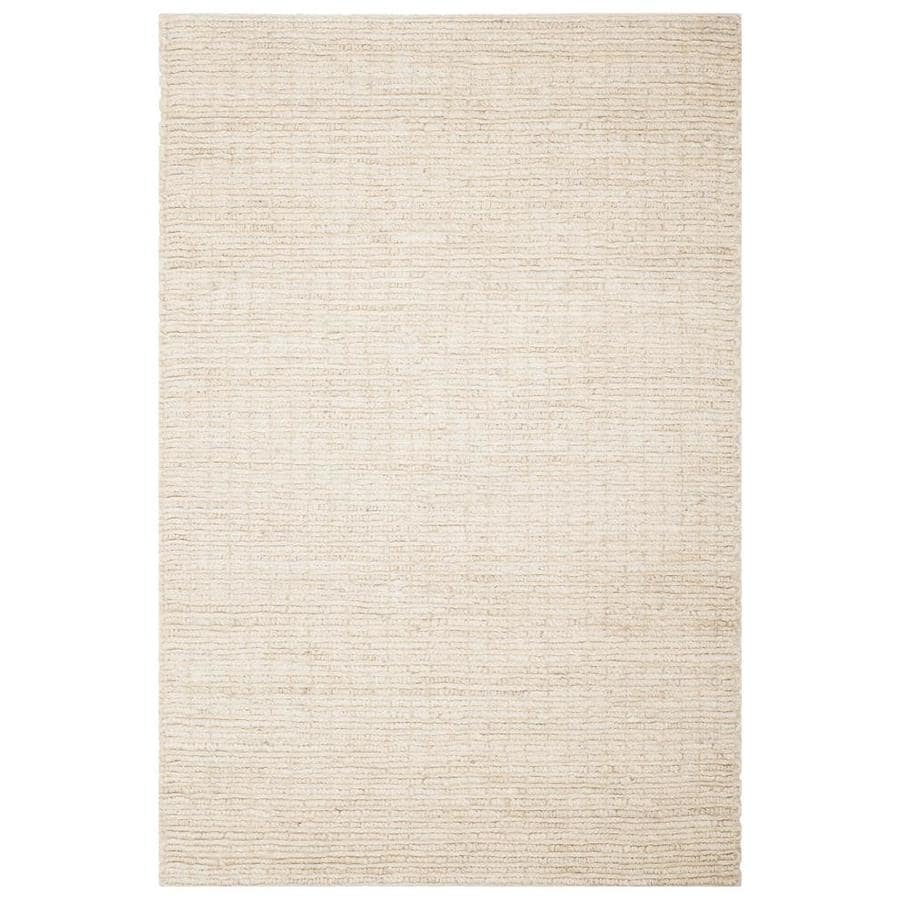 Safavieh Natural Fiber Redonda Ivory Indoor Handcrafted Coastal Area Rug (Common: 4 x 6; Actual: 4-ft W x 6-ft L)