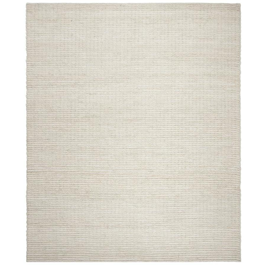 Safavieh Natural Fiber Redonda Ivory Indoor Handcrafted Coastal Area Rug (Common: 8 x 10; Actual: 8-ft W x 10-ft L)