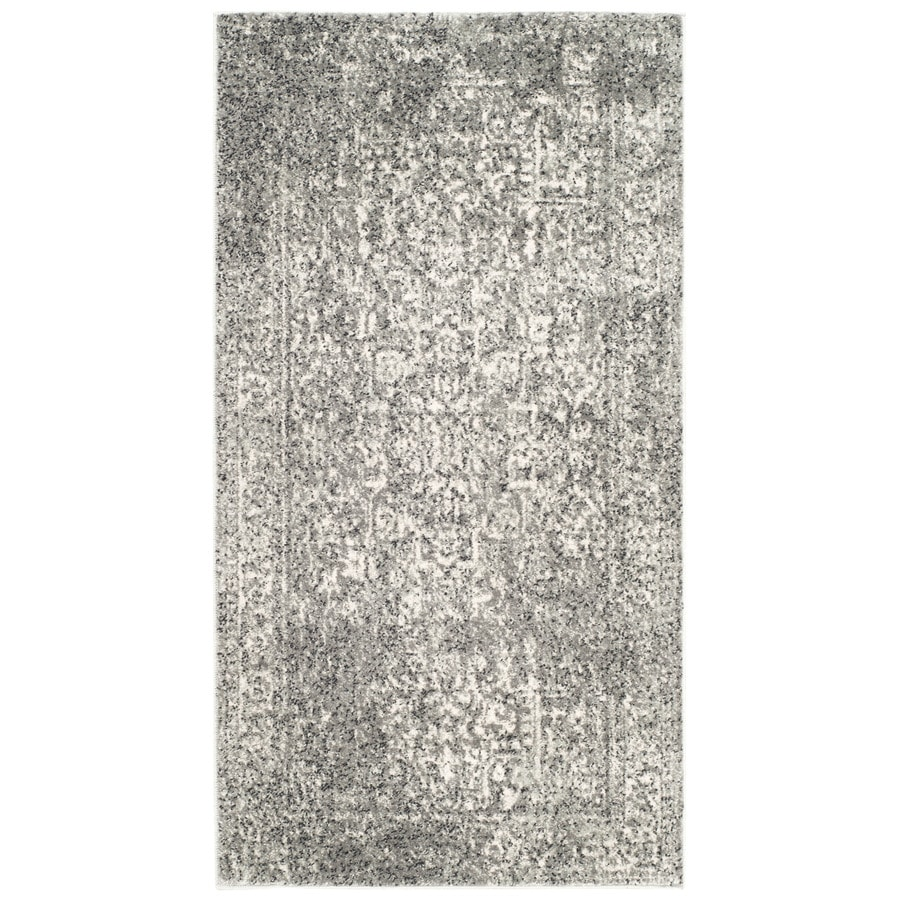 Safavieh Evoke Isla Gray/Ivory Indoor Oriental Throw Rug (Common: 2 x 4; Actual: 2.2-ft W x 4-ft L)