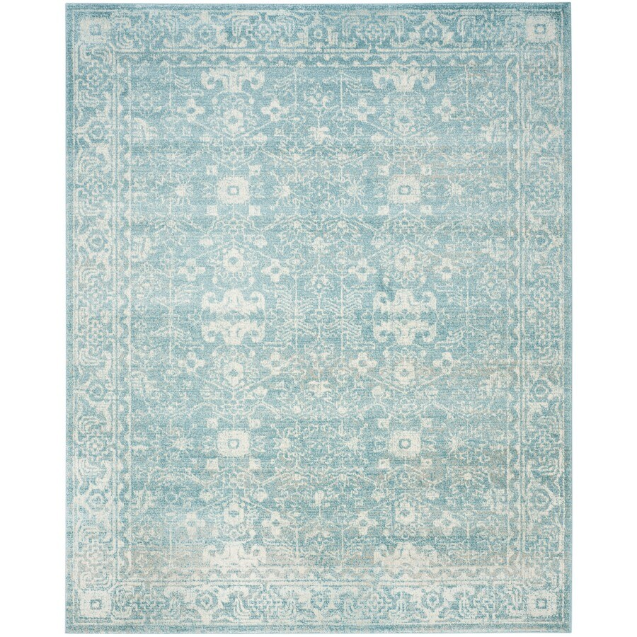 Safavieh Evoke Likoma Light Blue/Ivory Indoor Oriental Area Rug (Common: 11 x 15; Actual: 11-ft W x 15-ft L)