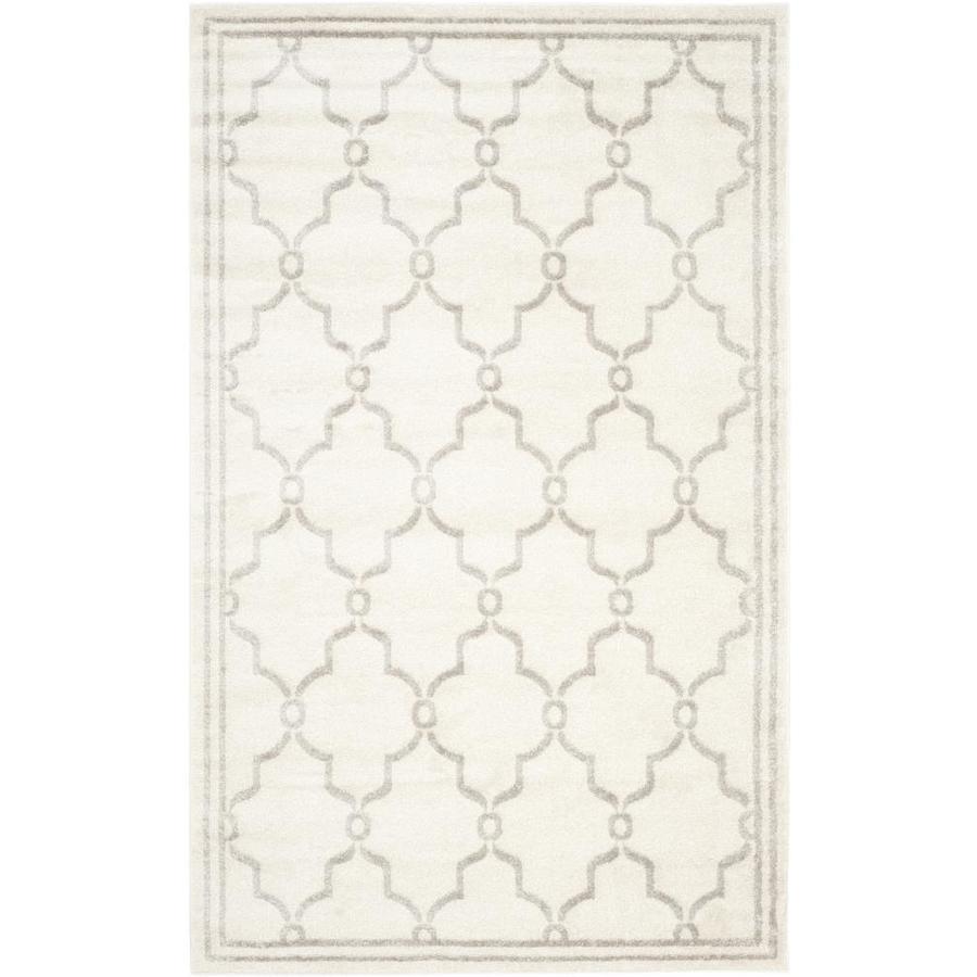 Safavieh Marion Ivory/Light Gray Rectangular Indoor/Outdoor  Area Rug (Common: 11 x 16; Actual: 11-ft W x 16-ft L)