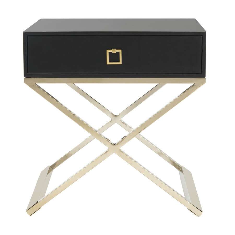 Safavieh Zarina Black End Table