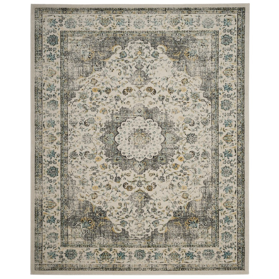 Safavieh Evoke Savoy Gray/Gold Rectangular Indoor Machine-made Oriental Area Rug (Common: 11 x 15; Actual: 11-ft W x 15-ft)
