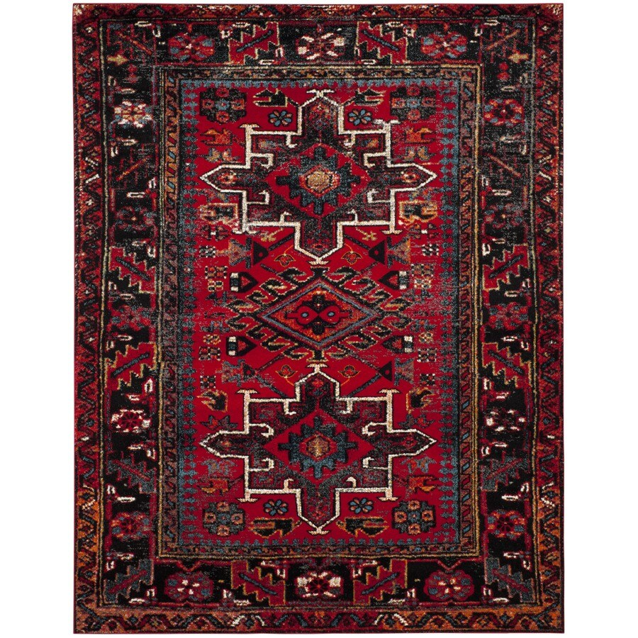 Safavieh Vintage Hamadan Caucasian Red Indoor Lodge Area Rug (Common: 11 x 15; Actual: 11-ft W x 15-ft L)