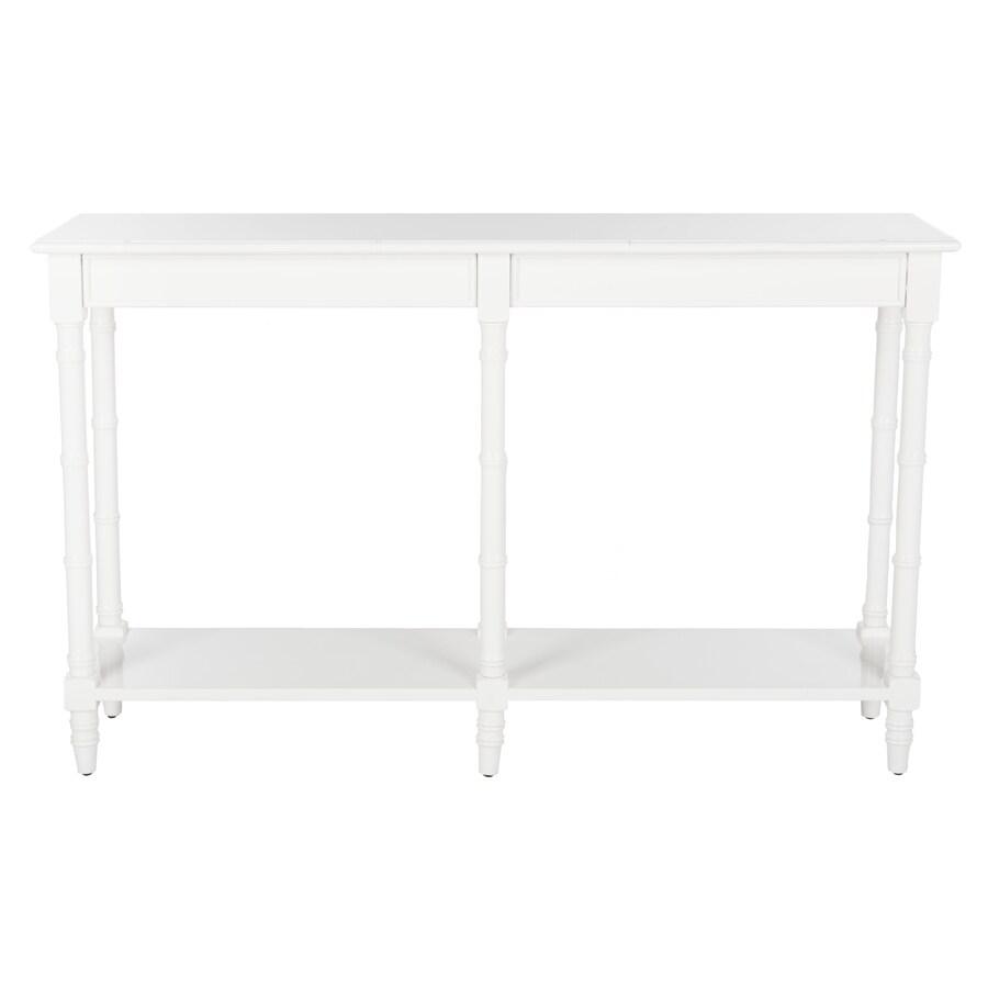 Safavieh Noam White Console Table