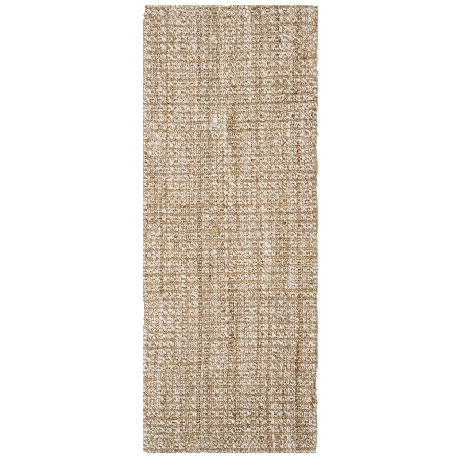 Safavieh Natural Fiber Brookville Natural Indoor Handcrafted Coastal Runner (Common: 2 x 6; Actual: 2.5-ft W x 6-ft L)