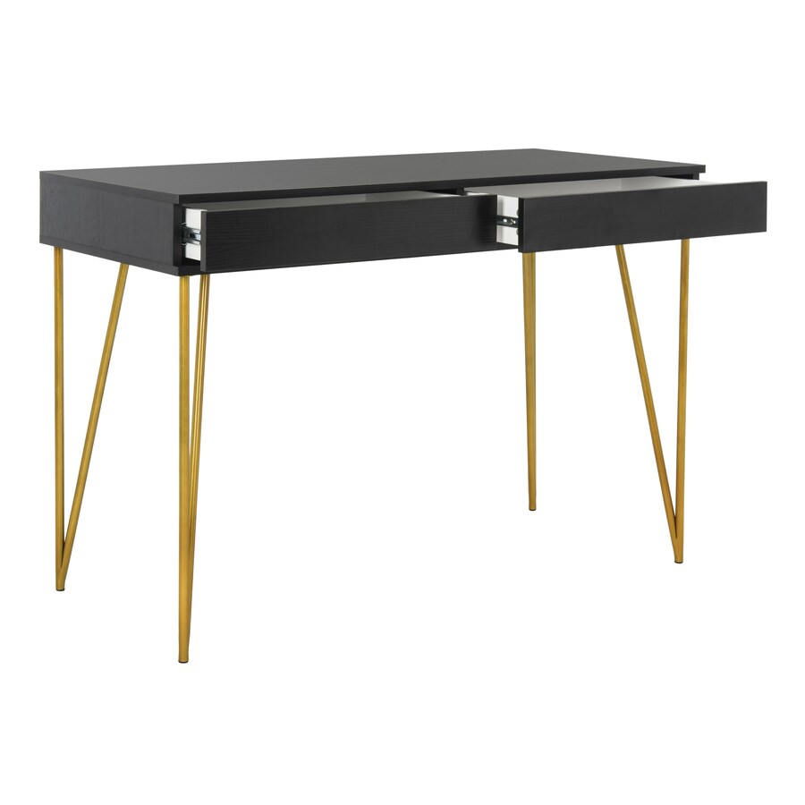 Safavieh Pine Contemporary Black Writing Desk