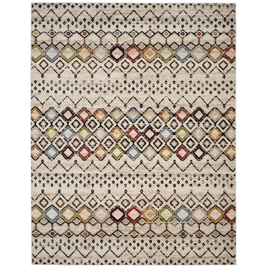 Safavieh Amsterdam Huron Ivory Indoor Lodge Area Rug