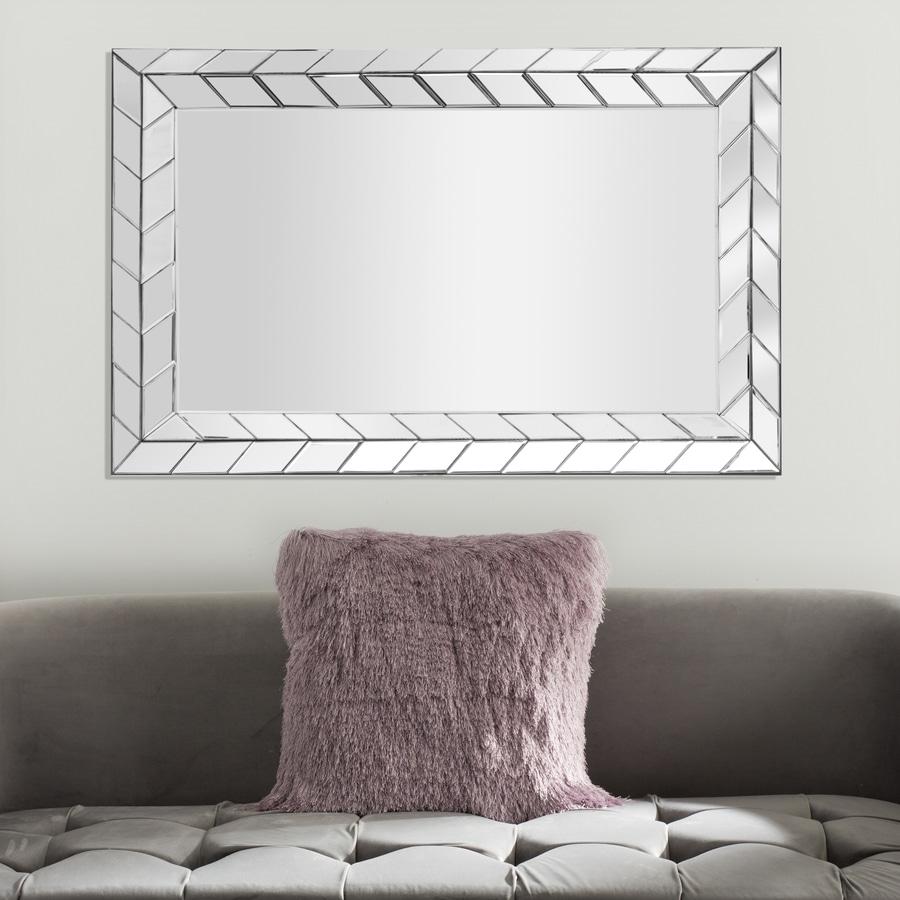Safavieh Calico Silver Framed Wall Mirror