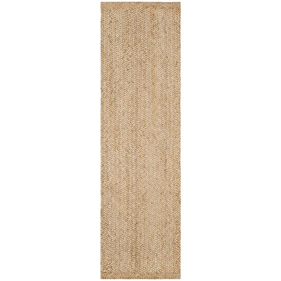 Safavieh Natural Fiber Tortola Natural Indoor Handcrafted Coastal Runner (Common: 2 x 6; Actual: 2.5-ft W x 6-ft L)