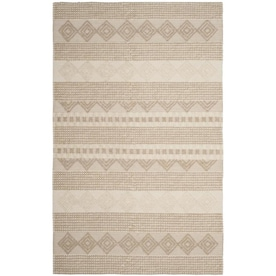 Martha Stewart Lion 6 X 7 Egg Yolk Irregular Indoor Kids Handcrafted Area Rug In The Rugs Department At Lowes Com
