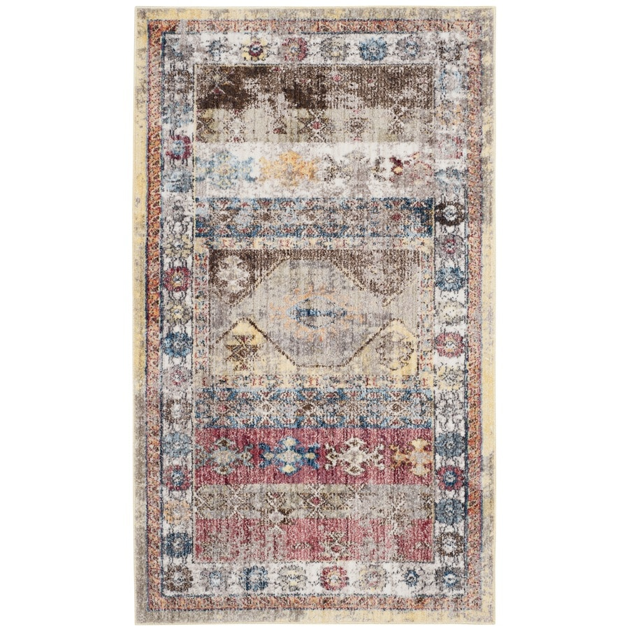 Safavieh Bristol Tunis Multi 3-ft x 5-ft