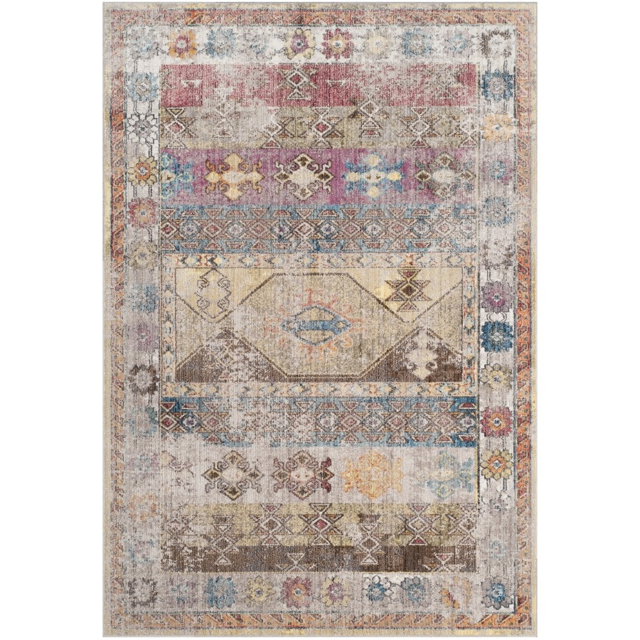 Shop Safavieh Bristol Tunis Indoor Area Rug Common 8 X