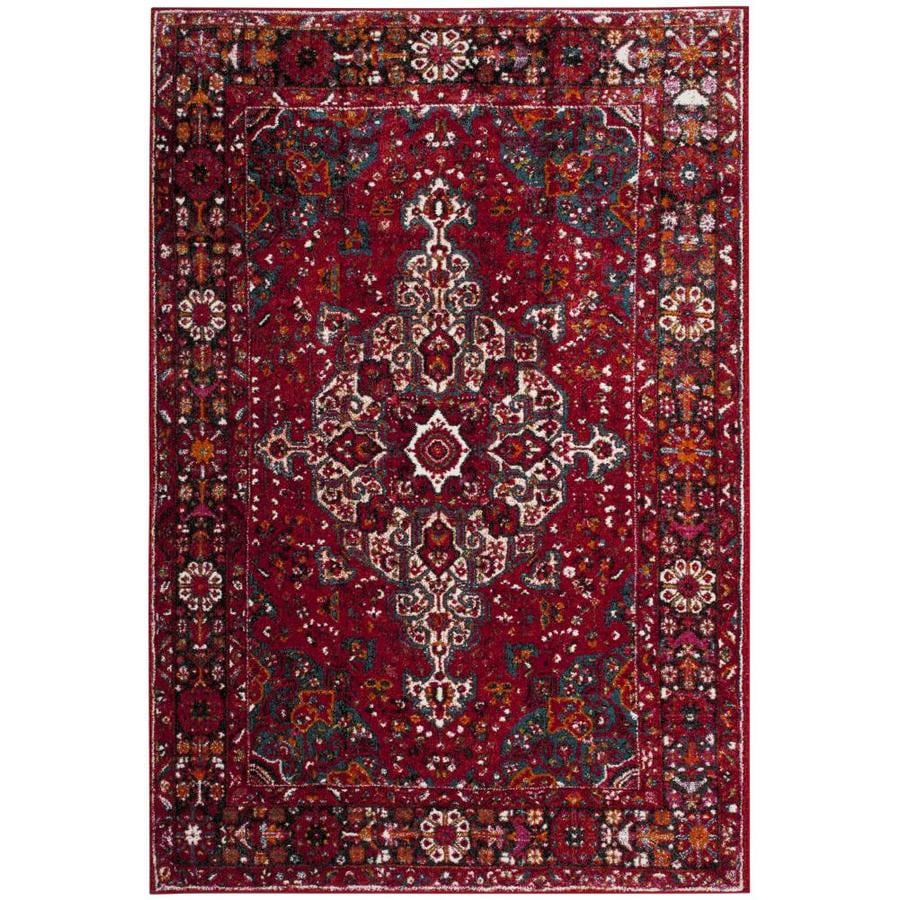 Safavieh Vintage Hamadan Malayer Red Indoor Lodge Area Rug Common 7 X 9