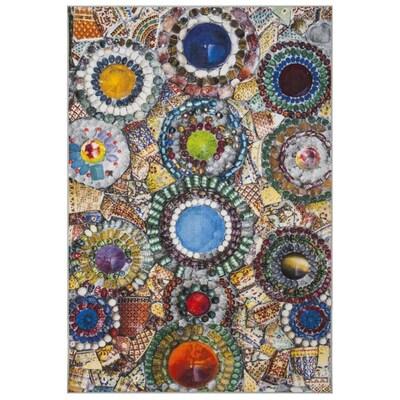 Ayolt Multicolor Rectangular Indoor
