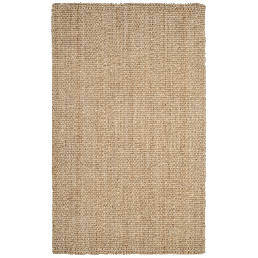 Safavieh Natural Fiber Culpepper Natural Indoor Handcrafted Coastal Area Rug (Common: 5 x 8; Actual: 5-ft W x 8-ft L)