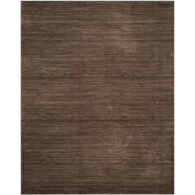 Safavieh Vision Tanasa 10 X 14 Brown Indoor Stripe Mid Century Modern Area Rug In The Rugs Department At Lowes Com