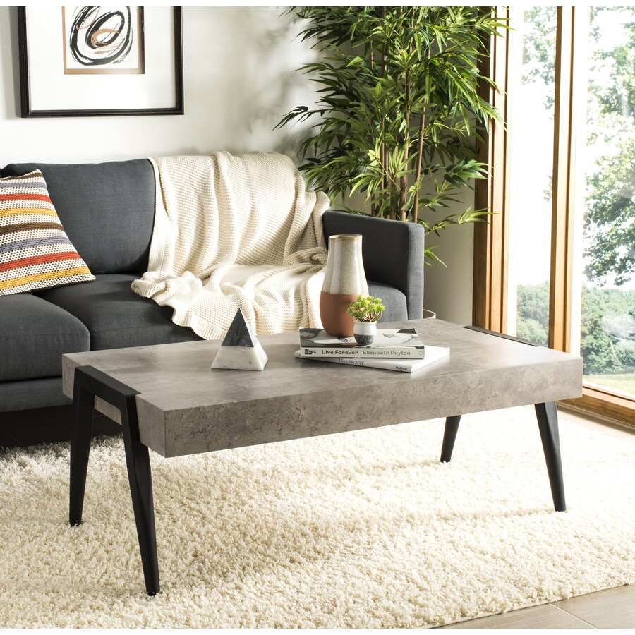 Cameron Coffee Table: Safavieh Cameron Light Gray Coffee Table At Lowes.com