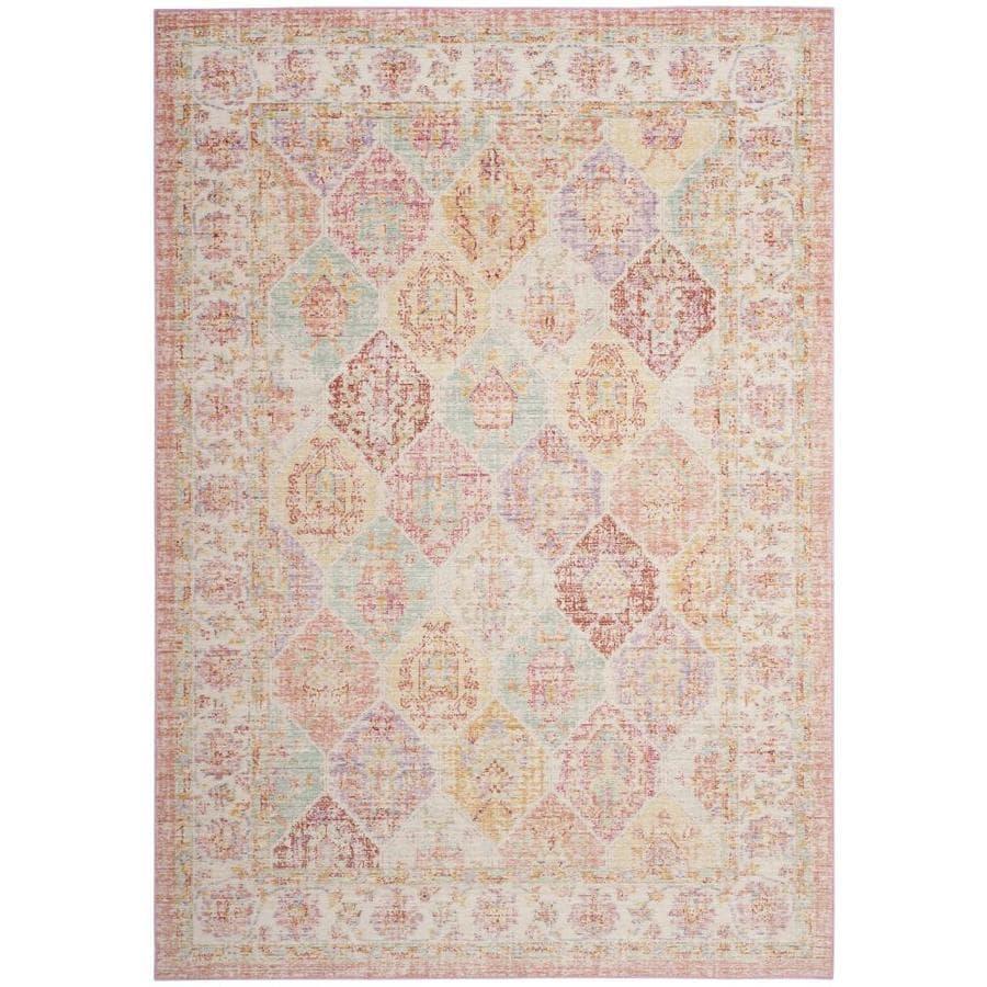 Safavieh Windsor Zari Pink Indoor Oriental Throw Rug