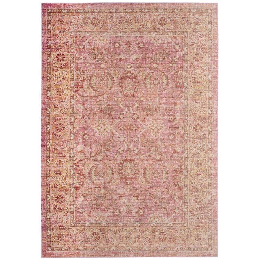 Shop Safavieh Windsor Eram Pink/Orange Indoor Oriental