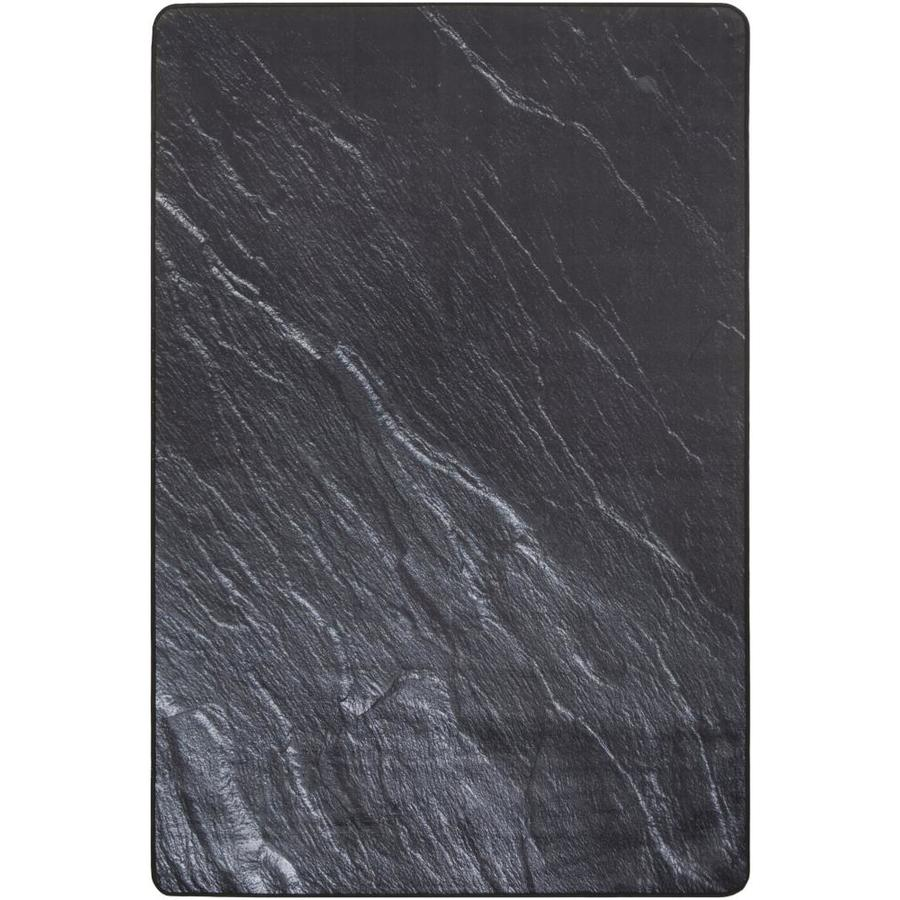 Safavieh Daytona Black Area Rug (Common: 5 x 7; Actual: 5.083-ft W x 7.6-ft L)