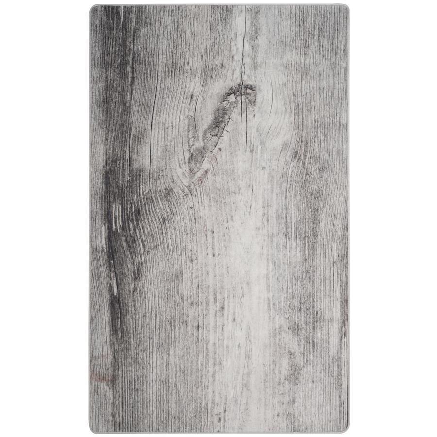 Safavieh Daytona Ivory/Gray Throw Rug (Common: 3 x 5; Actual: 3-ft W x 5-ft L)