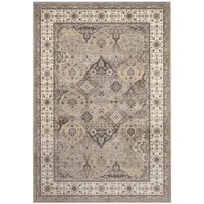 Safavieh Atlas Baktiar Black Ivory Rectangular Indoor