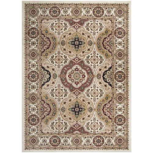 Safavieh Atlas Qum Ivory Beige Rectangular Indoor Machine