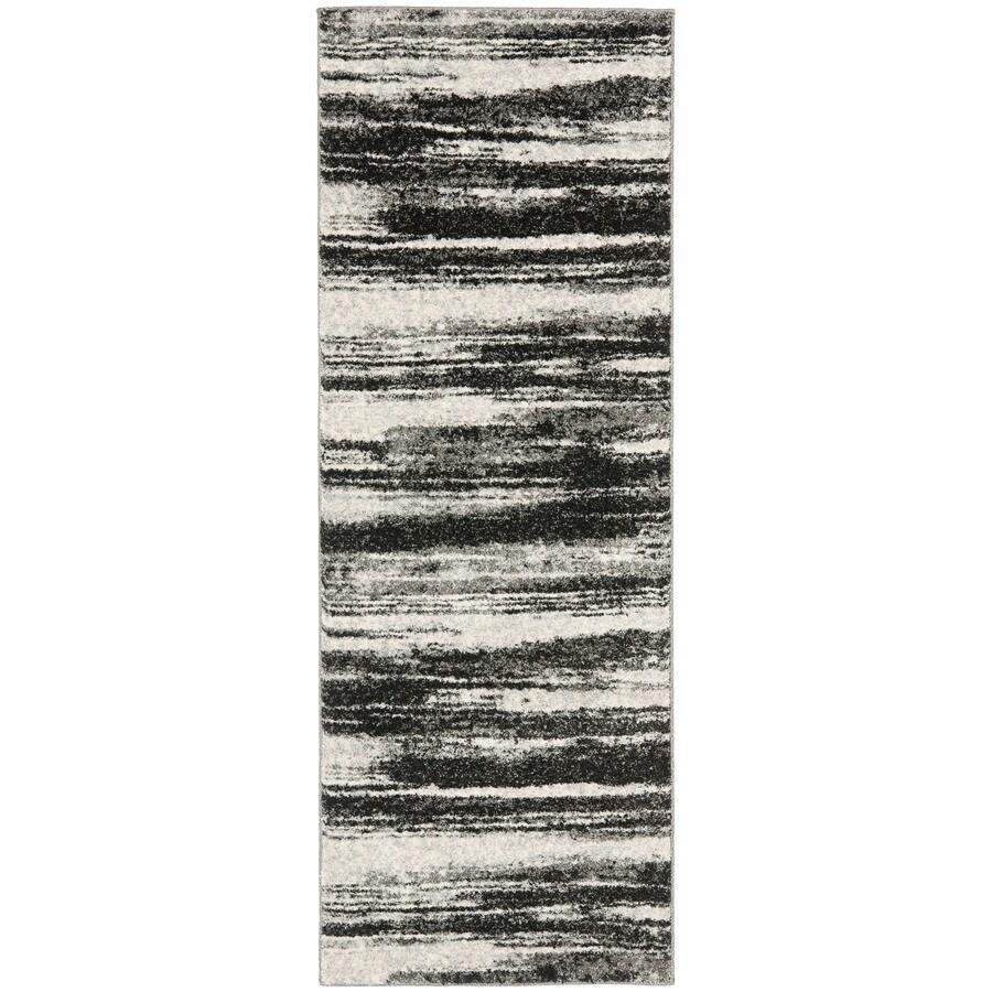 Safavieh Retro Fissure Dark Gray/Light Gray 2-ft 3-in x 15-ft