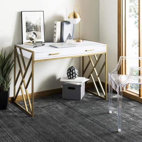 Elaine Modern/Contemporary White Writing Desk