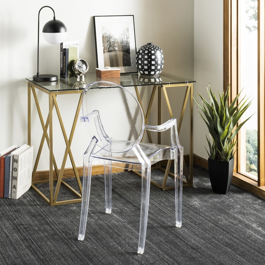 Safavieh Theresa Contemporary Clear Writing Desk