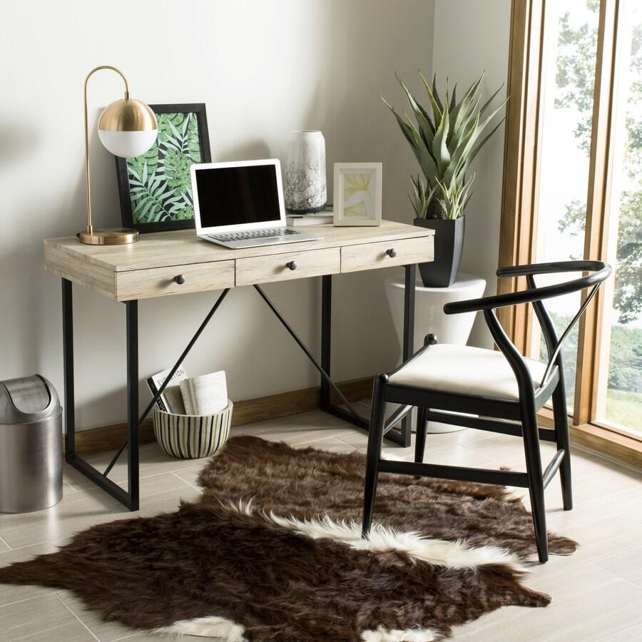 Safavieh Hilton Contemporary Rustic Brown Writing Desk