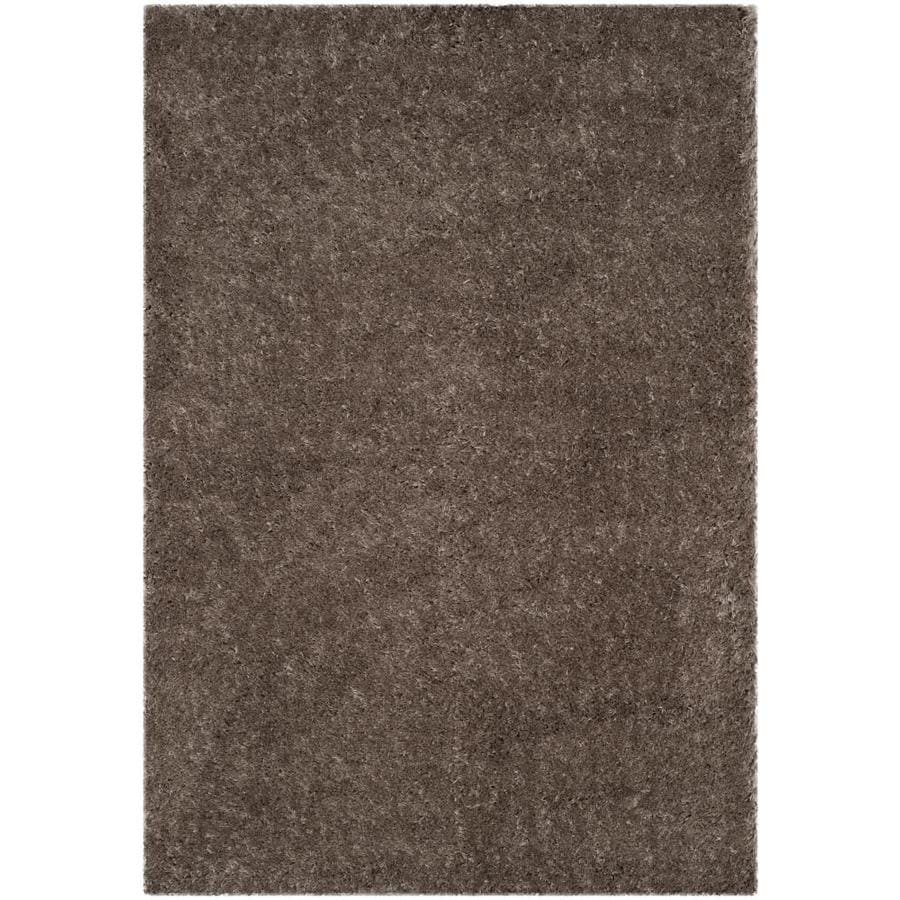 Safavieh Polar Shag Mushroom Indoor Area Rug Common 11 X 15 Actual
