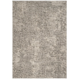 Safavieh Abstract Polinia 6 X 9 Blue Geometric Farmhouse Cottage Handcrafted Area Rug In The Rugs Department At Lowes Com