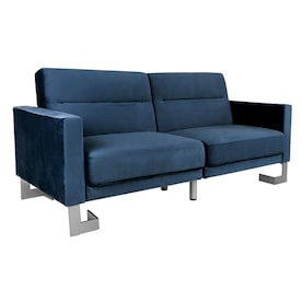 Magnificent Blue Futons Sofa Beds At Lowes Com Ncnpc Chair Design For Home Ncnpcorg