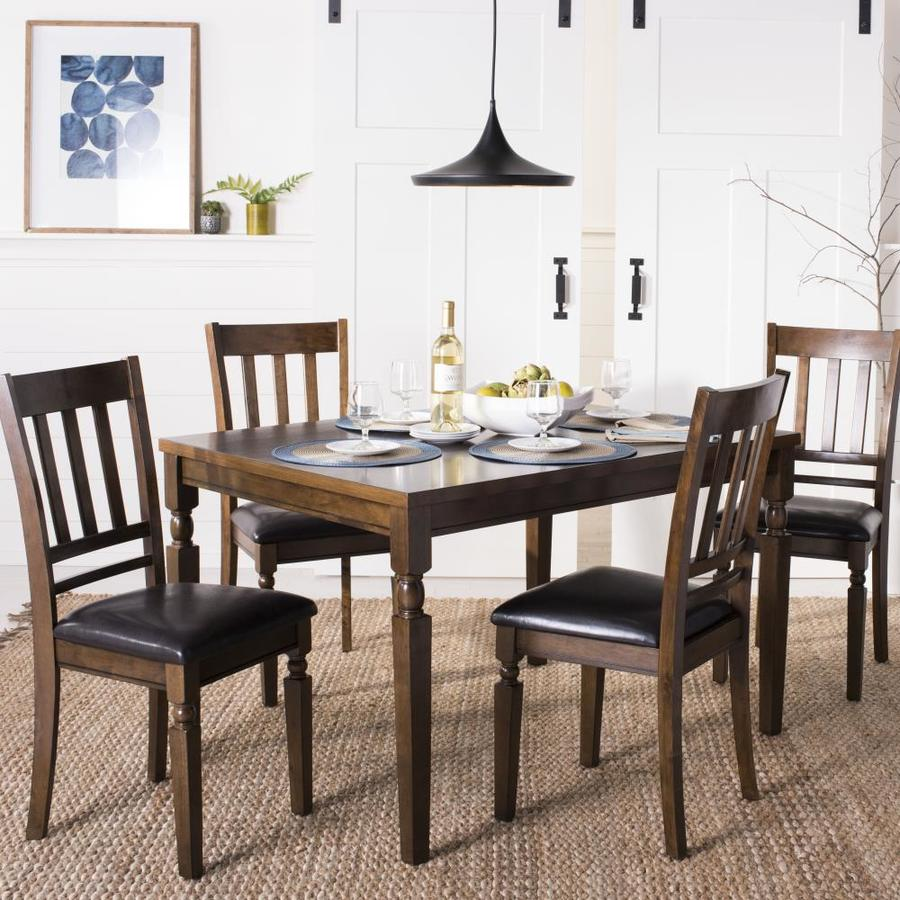 Safavieh Dining Table: Safavieh Kodiak Light Oak Dining Set With Dining Table At