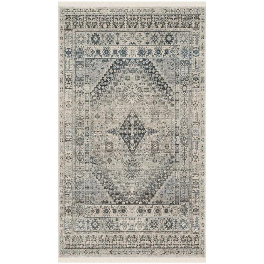 Safavieh Vintage Persian Pashtad Gray Blue Indoor Throw